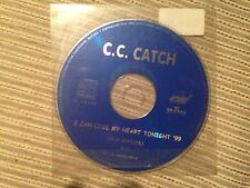 C.C. CATCH CC CD SINGLE SPAIN 1 TRACK PROMO I CAN LOOSE MY HEART RAP VERSION