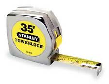 "STANLEY 33-835 35 ft. Tape Measure, 1"" Blade"