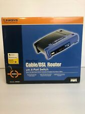 """LINKSYS, Etherfast Cable/DSL Router (4 Port Switch) """"WIRED"""""""