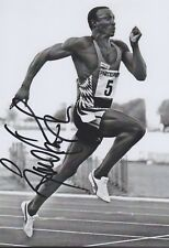 LINFORD CHRISTIE 3 Olympia 13x18 signiert IN PERSON Autogramm signed RAR
