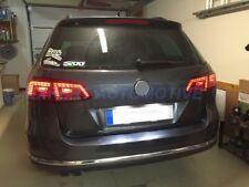 FANALI POSTERIORI A LED ROSSI/CROMO ROSSI/FUME VW PASSAT VARIANT 3C B7 2011-2015