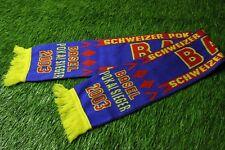 BASEL 1892 (FC) SWISS SWITZERLAND SUISSE FOOTBALL SOCCER FAN SCARF 2003