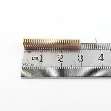100pcs Copper 315MHz 50Ω Spring Antenna for Wireless Communication System 38mm