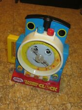 Vintage Thomas The Train Teaching Clock Learning Tool for Kids Telling Time 1992