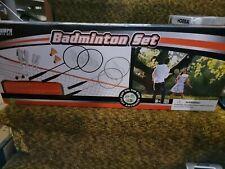 Triumph Sports USA Badminton Set Backyard Game Portable Net