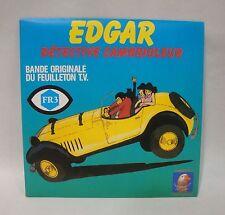 Disque 45T vinyl  BO du feuilleton TV Dessin animé EDGAR Détective cambrioleur