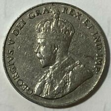 1931 ~ CANADA ~ 5 CENTS ~ GEORGE V ~ F15 condition