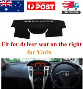 RHD Dash Mat Dash Cover Dashboard No Slips For Toyota Yaris Hatchback 2006-2012