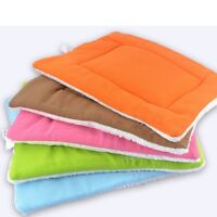 Pet Bed Cushion Mat Pad Dog Cat Kennel Crate Warm Cozy Soft Blanket S M L XL