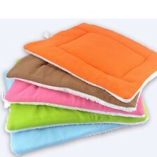 Pet Bed Cushion Mat Pad Dog Cat Kennel Crate Warm Cozy Soft Blanket S M J