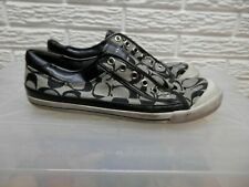 Coach Felix Canvas Coach Logo Sneakers Size 8.5