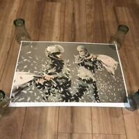 Banksy walled off poster Art collection walled off hotel & Drone Poster