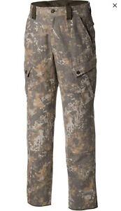 Wool Blend Digital Hunting Camo Large Pants Mens L Columbia PHG Gallatin $160