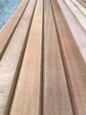 12 Sapele Hardwood Garden Bench Slats 53mm X 21mm X 1220mm Seat Hardwood Chair