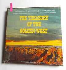 1964 Ken Carson, The Choraliers TREASURY OF THE GOLDEN WEST Box Set LWS-143 6xLP