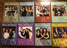 Will and Grace COMPLETE SERIES Collection DVD Lot Season 1 2 3 4 5 6 7 8