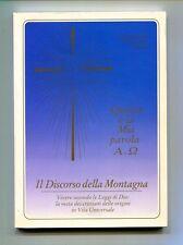 IL DISCORSO DELLA MONTAGNA # Vita Universale 1993 Leggi Dio Vangelo Libro