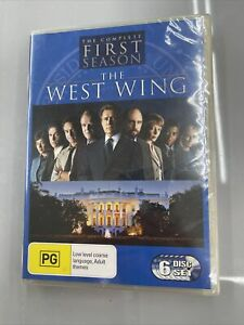 The West Wing The Complete First Season 6 Disc DVD Set Season 1 New Sealed