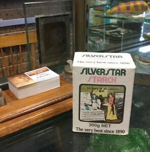 Vintage Silverstar Starch Cardboard Packet