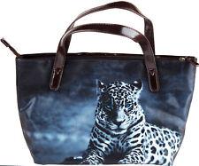 More details for ladies handbag - snow leopard cat bag
