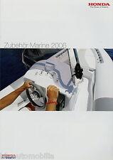 Honda Zubehör Marine Katalog 2006 Bootszubehör Fernbedienung Propeller Racing ua
