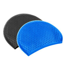 New Silicone Durable Swimming Cap Adult Unisex Bathing Hat UV Protect