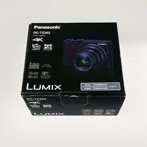 Panasonic LUMIX DC TZ202 Kompaktkamera 4K Video Stabilisiert Digital Kamera