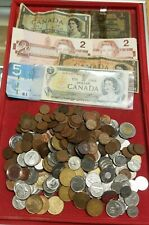 $78.74 CAD FV Lot of Canada Coins & Banknotes - Great mix!
