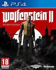 Wolfenstein 2  The New Colossus PS4 NUEVO CASTELLANO  ESPAÑOL