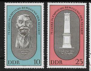 DDR 1969 Olympic Movement set MNH/**, Michel 1489-1490