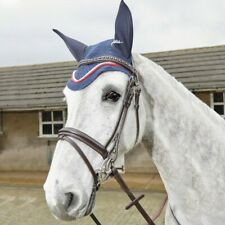John Whitaker Lynton Snaffle Leather Bridle With Flash Noseband+ 2 Browbands