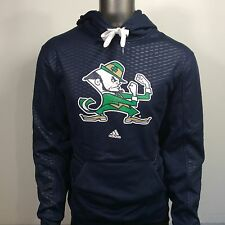 Notre Dame Fighting Irish Adidas Fatal Print Mens L Hoodie Hooded Sweatshirt $70
