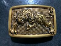 TIGER LUXURY PIN BUCKLE MADE IN BRASS ONLY FOR 38 MM BELTS DESIGNER BELT BUCKLES
