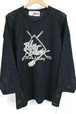 VTG KOBE Hockey Jersey Mens sz Medium Black Billy Balloos Roller Hockey Canada