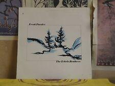 ECKELS BROTHERS, FRESH POWDER - UK LP AUTOGRAPHED AP 4242