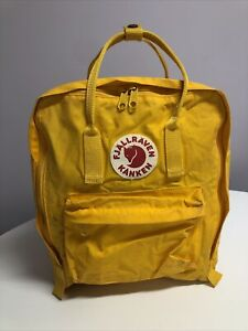 Fjallraven Kanken Orange Backpack Rucksack Bag