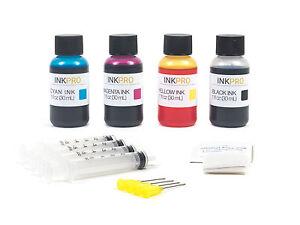 InkPro Premium Combo Ink Refill Kit for HP 27/28 30mL 1oz