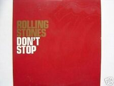 ROLLING STONES DON'T STOP CD SINGLE card sleeve