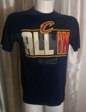 91664a7b3 NBA Exclusive Cleveland Cavaliers Cavs 2016 Playoffs All In size M Navy t- shirt