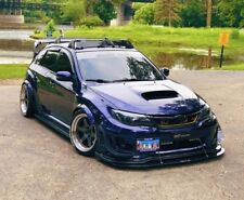 2011-2014 Subaru WRX/STI Front Lip Splitter No Support Rods - Enforced Aero