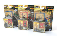 Hasbro Kre-O Dungeons & Dragons Collection 1 Figures, Drizzt, Vansi & Neverember