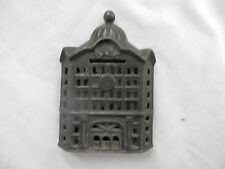 antique cast iron still BANK building dome top penny bank