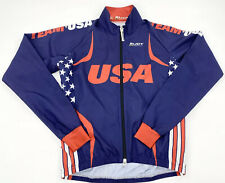Men's RUDY PROJECT Team USA Triathlon Cycling Jacket size XS