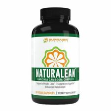 Naturalean 100% Pure Garcinia Cambogia - Weight Loss Metabolism Supress Appetite