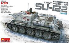 CANON AUTOMOTEUR SOVIETIQUE SU-122,  1943 - KIT MINIART 1/35 n° 35181