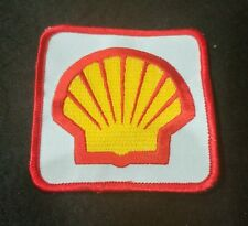 Cool vintage Shell Oil Gas embroidered logo PATCH for shirt or hat! UNUSED!
