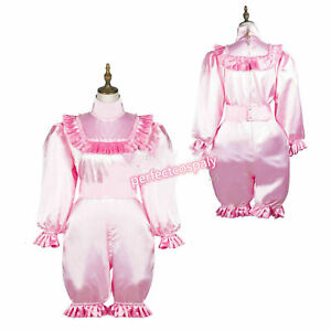 Sissy satin jumpsuit cosplay tailor-made