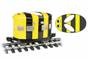 Bachmann Remake of Aristocraft Eggliner # 96282 BUMBLE BEE W/LED Lighting NEW