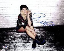 Rita Ora + + AUTOGRAPH + + British Singer + + Body on me