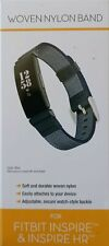 WITHit Woven Nylon Band For Fitbit Inspire & Inspire HR- Blue gray Red Purple